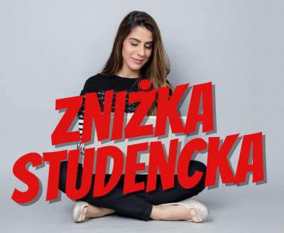 ZNIŻKA STUDENCKA | FENIKS # Szkoła tańca Białystok, kursy nauka tańca w Białymstoku, salsa, taniec towarzyski, taniec brzucha, latino solo